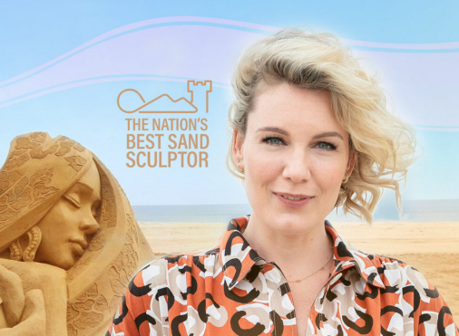 The nation's best sand sculptor